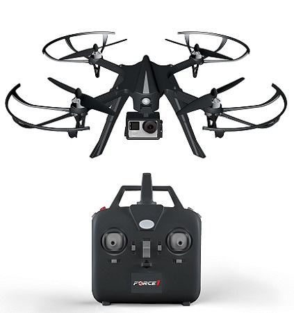 Force1 Brushlesss Drone Camera-Ready Quadcopter