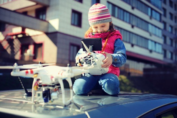 Top Four Reasons Why Your Kids Need A Drone