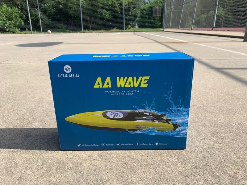 AA Wave Altair Aerial RC Boat